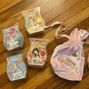 Scentsy & Disney Princess wax collection